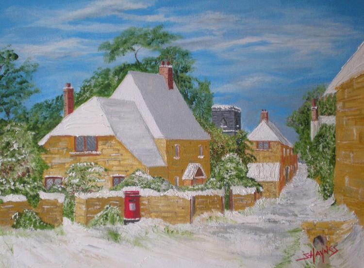 An English winter scene