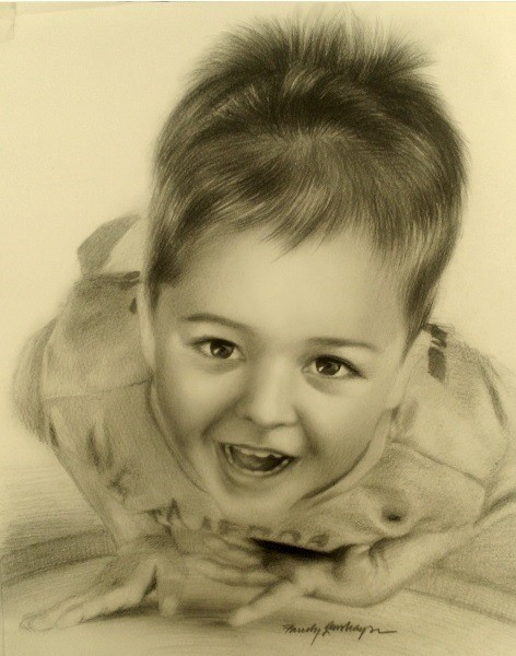 resimser karakalem çocuk