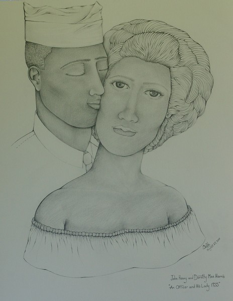 An Officer and His Lady