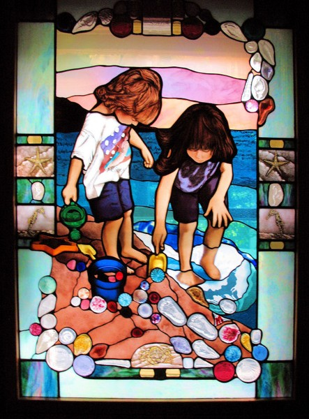 Beach Glass Window