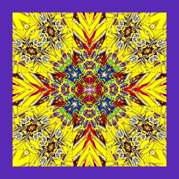 Bright Crystal Cross of Joy