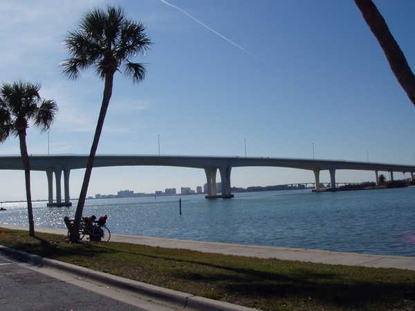 Bridge from Clearwater, FL to Clearwater Beach