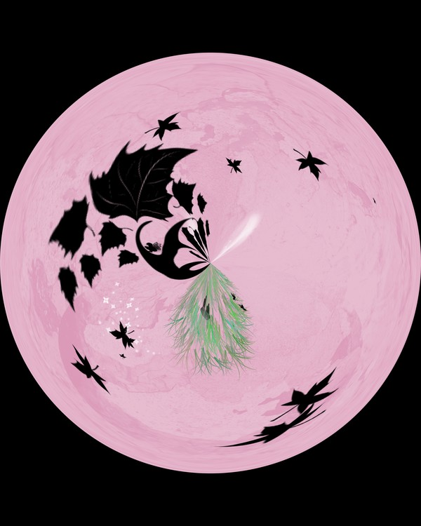 Morphed Art Globe 10