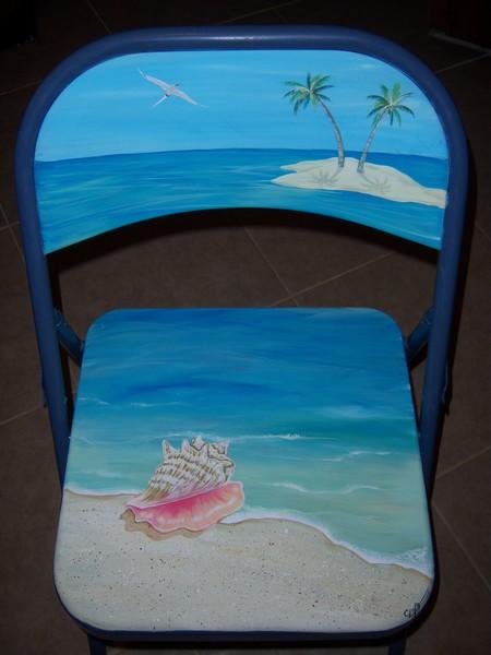 conch chair