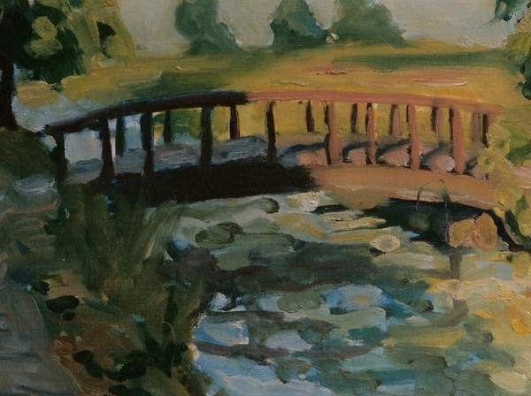 halfshadowed bridge