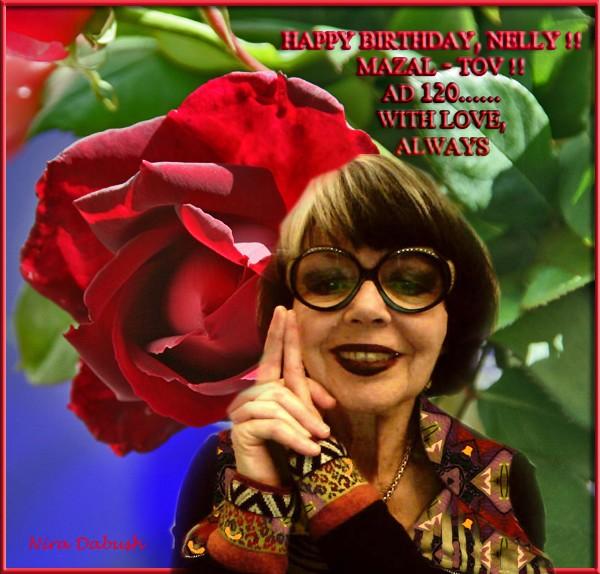 Happy Birthday, Nellushka!