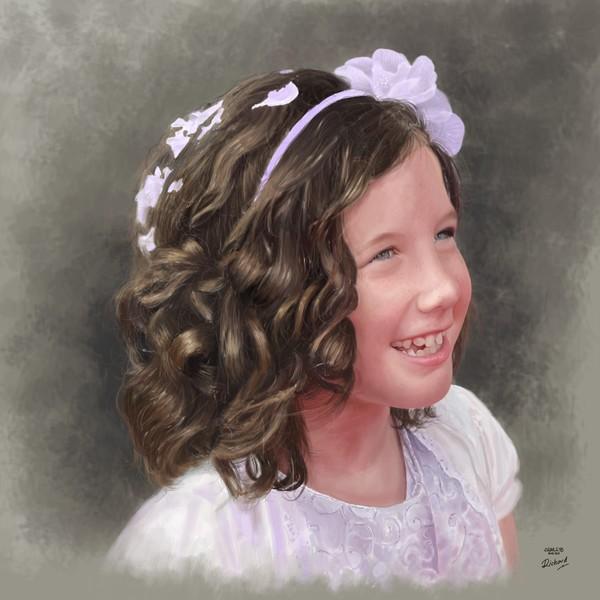 Ellie Saw Digital Painting