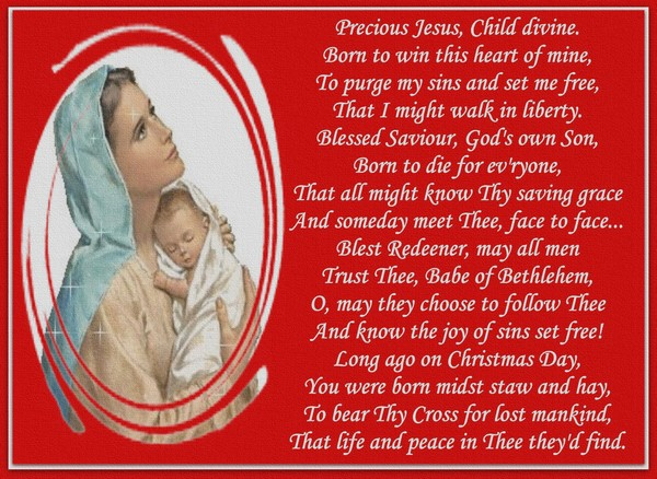 Preclous Jesus...