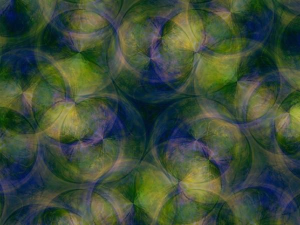 Green Blue Circles