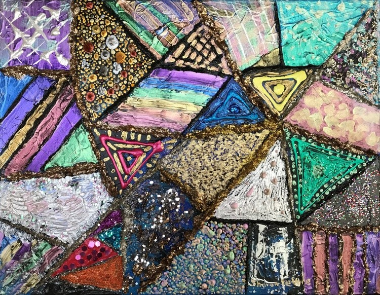 Abstract 13 Patchwork Quilt 6