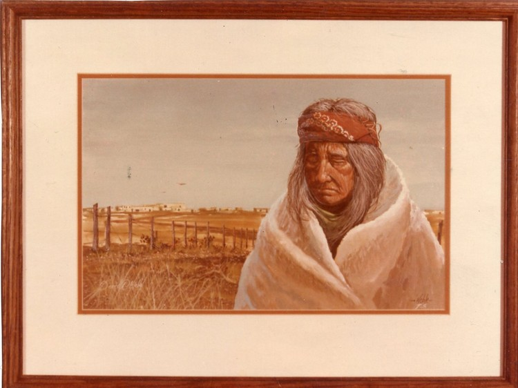 Contemplation of the Apache Elder