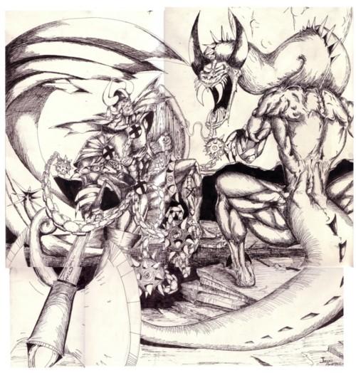 Drangon fight