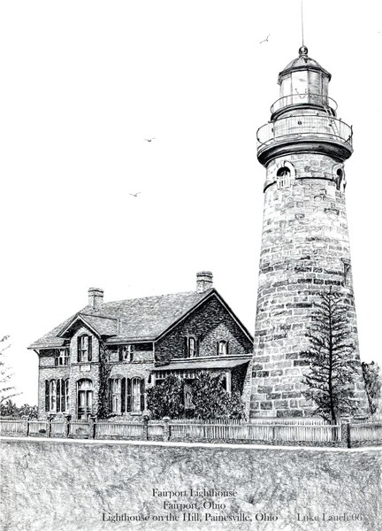 Lighthouse on the Hill 1825