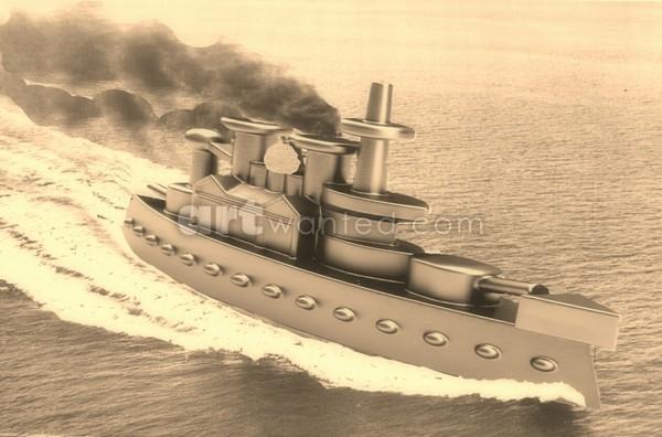 Keep The Peace,...Battleship Piece!