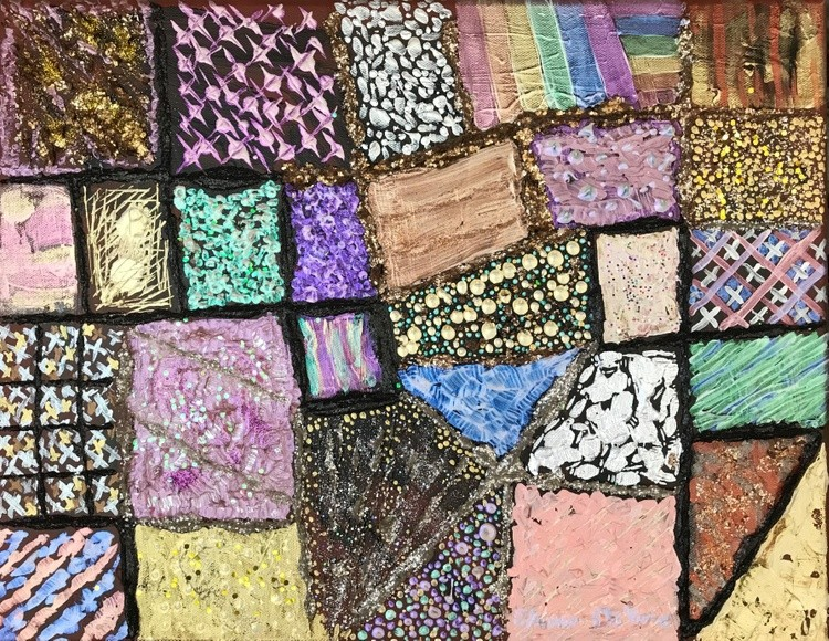 Abstract 12 Patchwork Quilt 5
