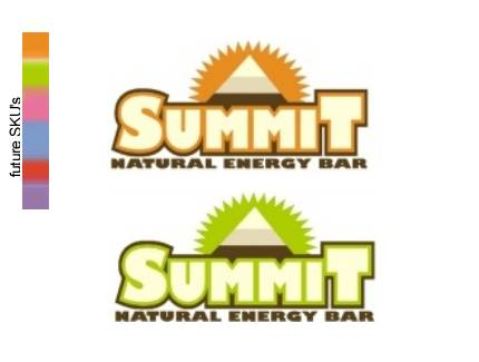 summit high energy bar logo and packaging
