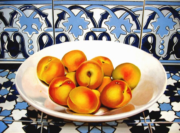 Apricots and Andalucian tiles