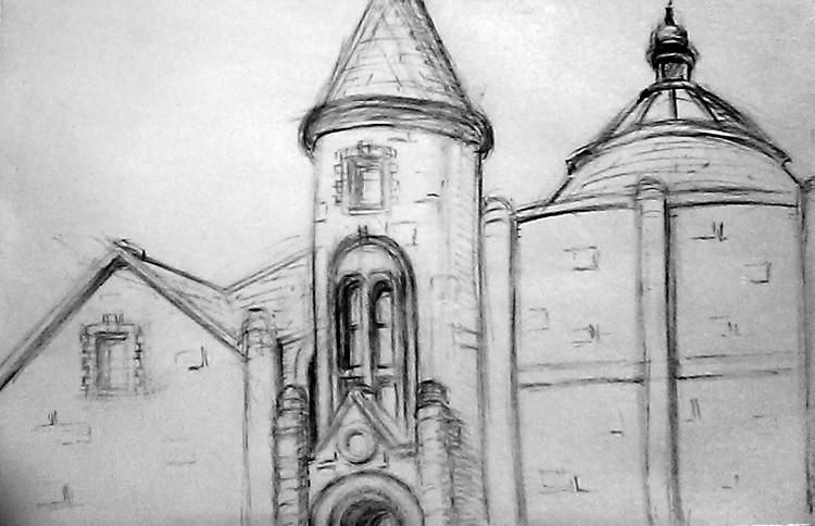 SF Theological Seminary Drawing