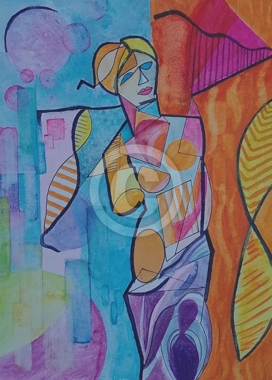 Venus de Milo colorful version