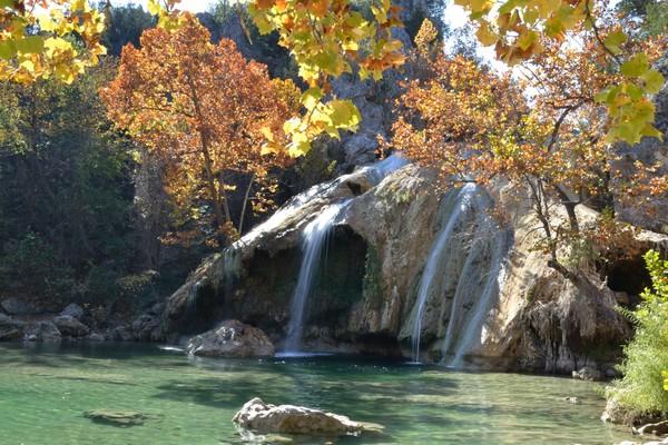 Autumn at Turner Falls