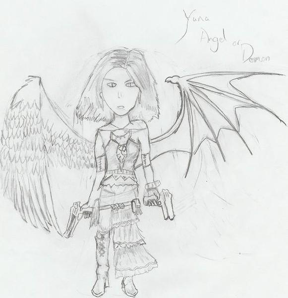 Yuna, Angel or Demon?