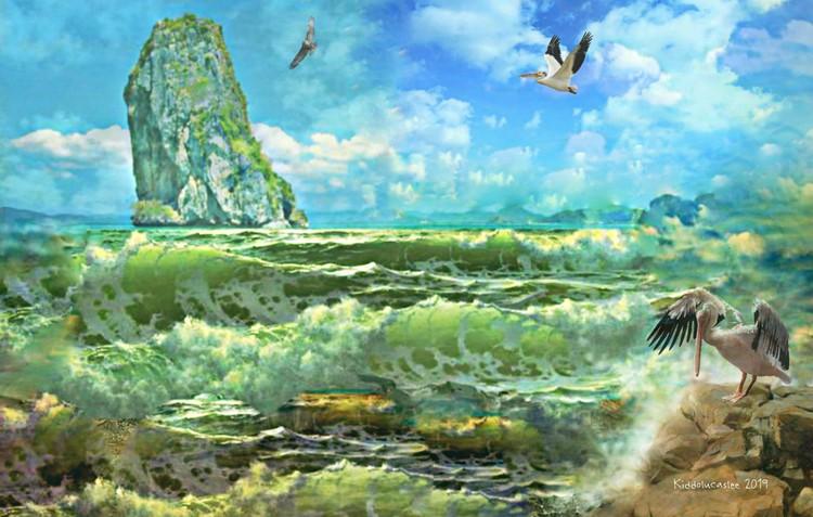 Jade Radiance Waves *  2019 Kiddolucaslee
