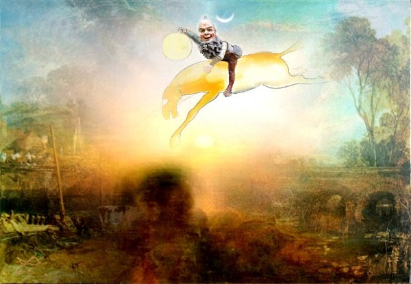 IRISH LEPRECHAUN WITH SUN SPIRIT