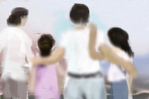 Peacful family