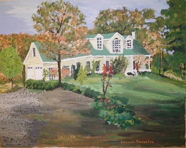 Ozark House Left Side & Front