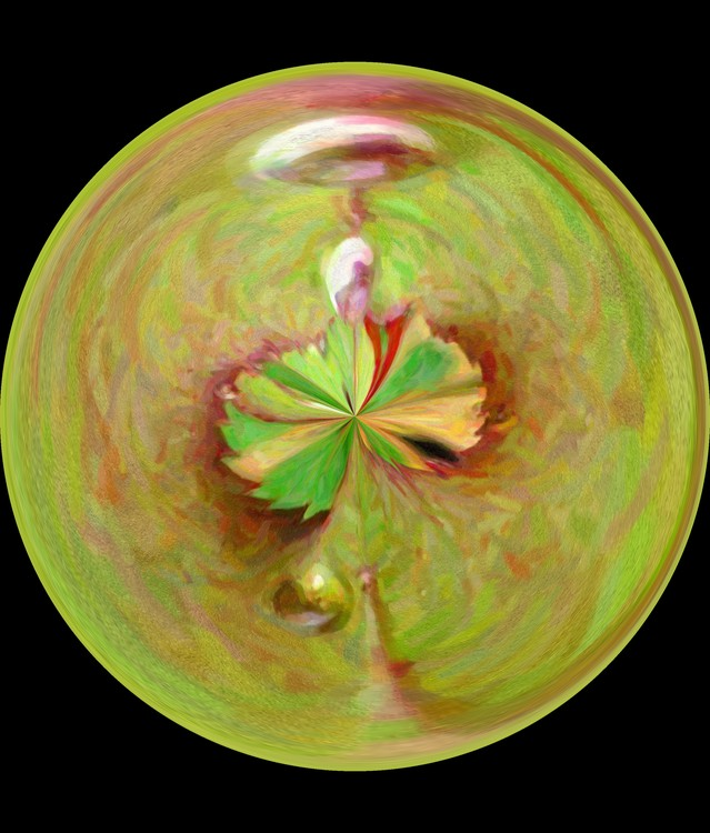 Morphed Art Globe 21