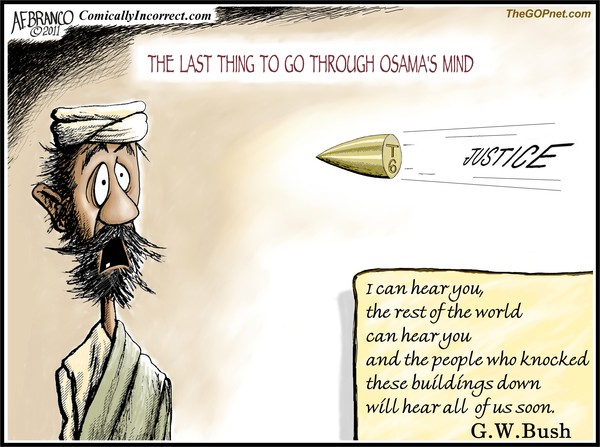 Osama's Mind (Cartoon)