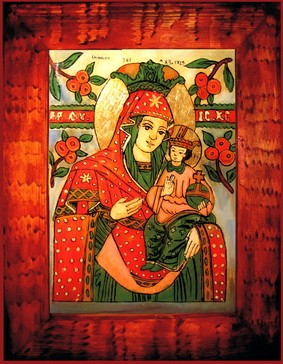 St Mary with Jesus