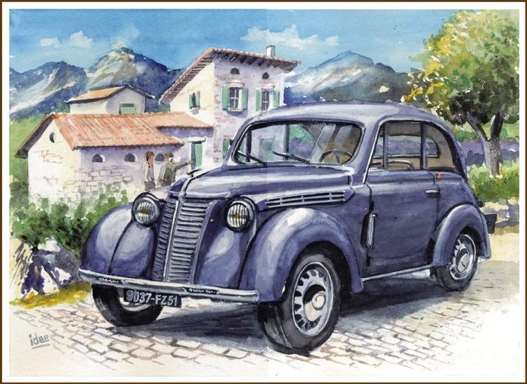 Renault Dauphinoise 1950