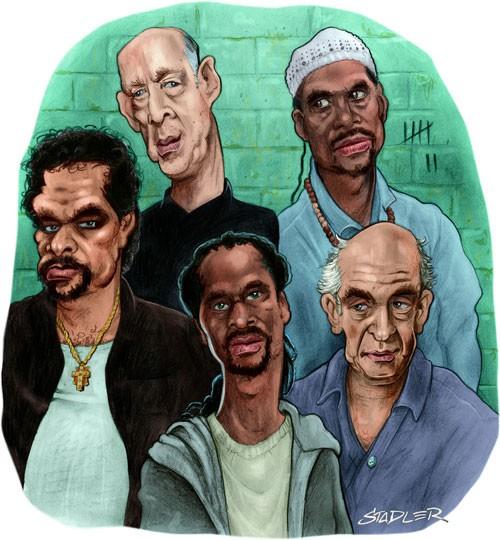 HBO's Oz - Caricature Art