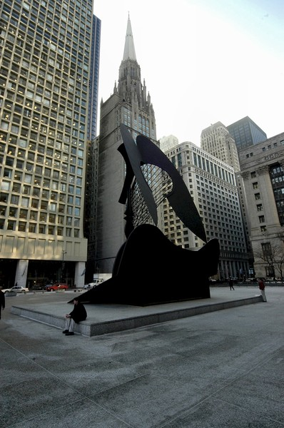 Pablo Picasso's Untitled in Chicago
