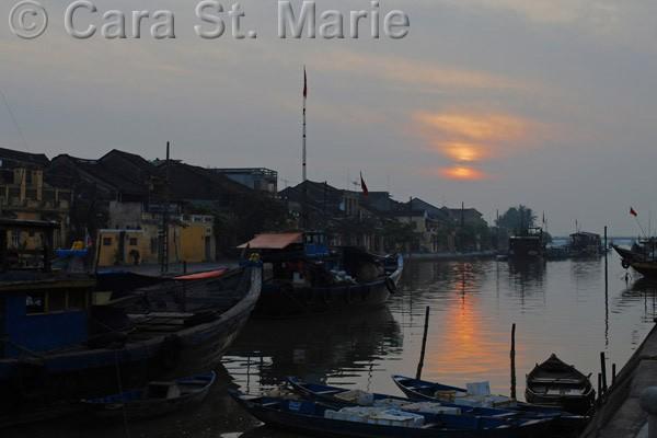 Hoi An, Vietnam at Sunset