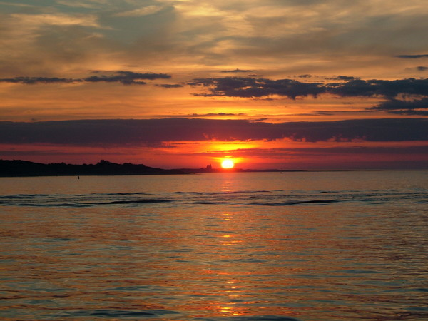 Mid-Atlantic Sun burst