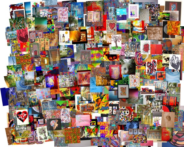 Big Collage Of My Art