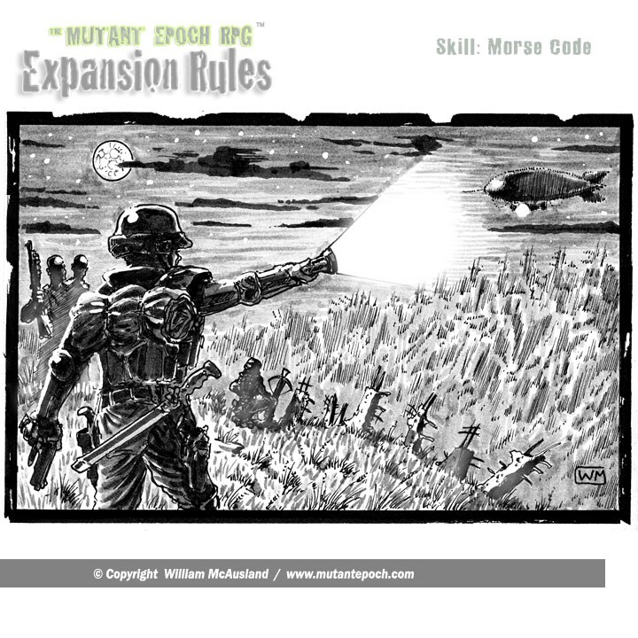 The-Mutant-Epoch RPG-Expansion-Rules-Art-Skill-Morse-code-ground-to-air-web