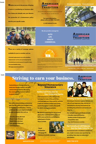 American Traditions Insurance Brochure