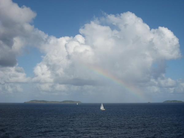 St. Thomas Rainbow Sky