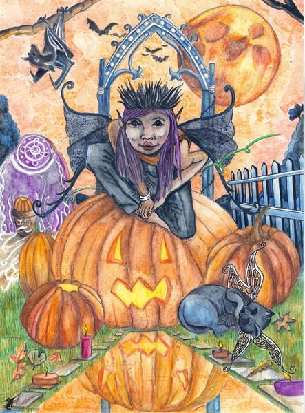 Halloween Faery