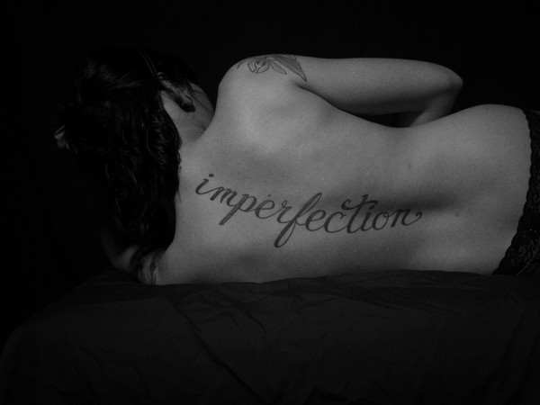 Imperfection pose 3