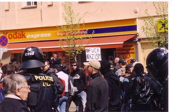 Anti Nazi Protest Prague