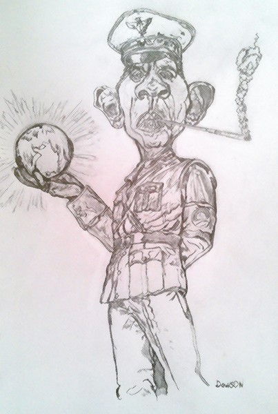 Obama Caricature Study