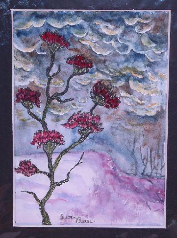 Cranberry Thistle Tree