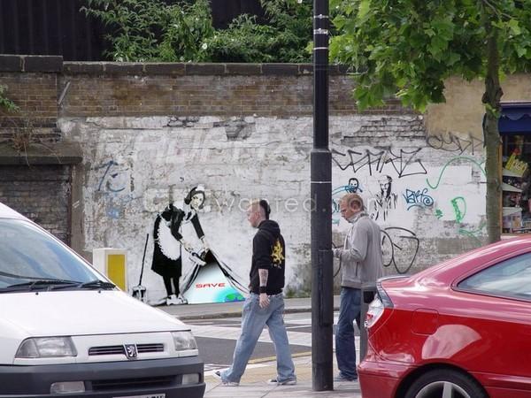Banksy Hidden message Londo