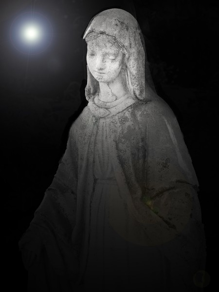 Mary Statue 7560