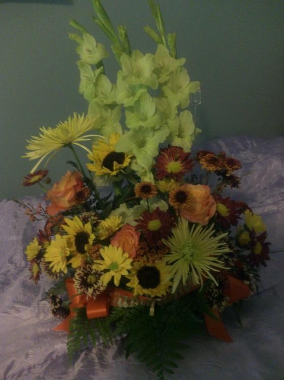 flowers for Frank