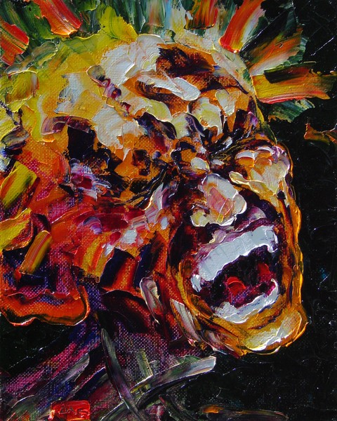 Pain (self-portrait)